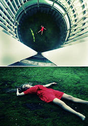 Crime Scene - Suicide by larafairie