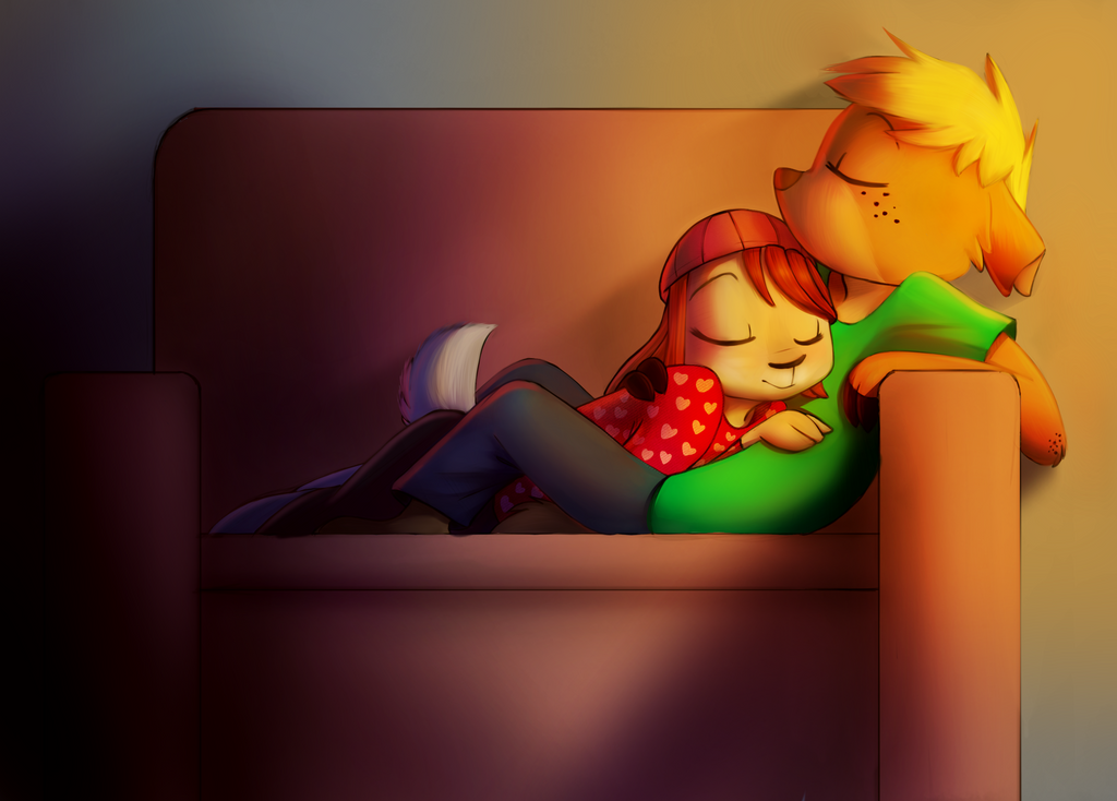 Cuddles by Amber1118