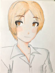 Request: Tda Natsume Portrait (Colored!) by Myindiansummer