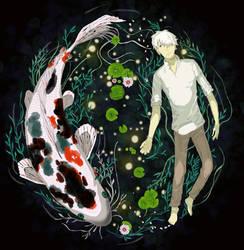 Mushishi Beyond The Well by deanjen