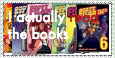 I actually read the books. (Scott Pilgrim Stamp) by Petpettails123