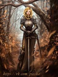 Firen. Woman-warrior by Yioshka