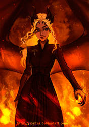 Mother Of Dragons by Yioshka
