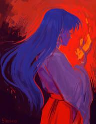 Rei Hino by Yioshka