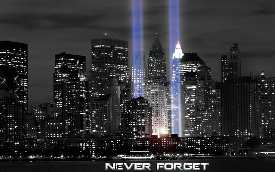 9 11 Never forget by Roxiiin