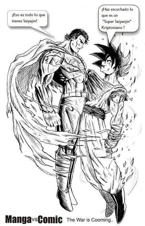 Who Is Stronger Goku Or Superman