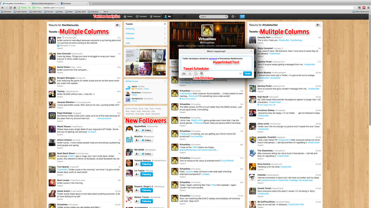 What Twitter.com should look like by VirtualAlex