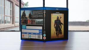 The Mandalorian Season 1 Custom Blu-ray Cover