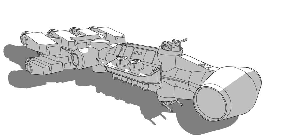SW Vehicle - Blockade Runner by Obhan