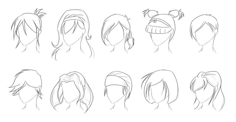 Female Hairstyle Practice