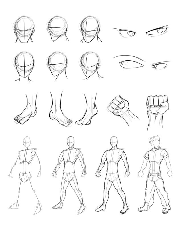 Drawing Practice Summary by Obhan