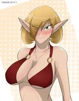Cute Blood Elf by Obhan