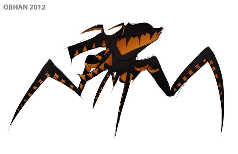 Quick Sketch - Starship Troopers Bug by Obhan on DeviantArt