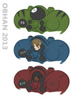 Terran Marine Character Tests by Obhan
