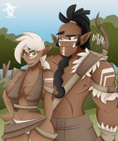Mag'Har Hunting Pair by Obhan
