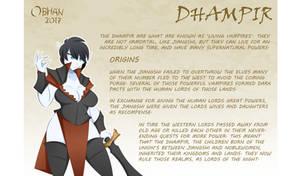 KTS RACES - Dhampir by Obhan