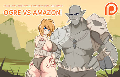 Ogre Vs Amazon Promo Image by Obhan