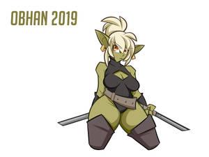 Goblin Girl Character