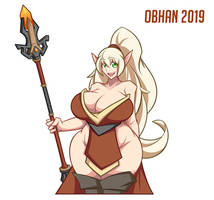 Blood Elf Mage Character