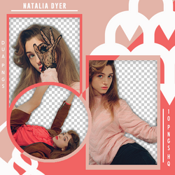 PACK PNG 434 // NATALIA DYER by DUA-PNGS