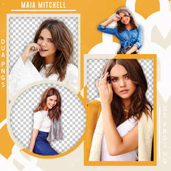 PACK PNG 480 // MAIA MITCHELL by DUA-PNGS