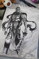Saragnayan Character Concept.