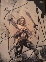 Yarrr, The Pirate Nun!