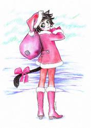 Merry Kotik-mas everyone by NiebieskiKot