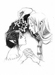 Mr T i Sumi by NiebieskiKot