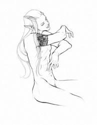 Niewidzialny Ukochany (invisible lover) by NiebieskiKot