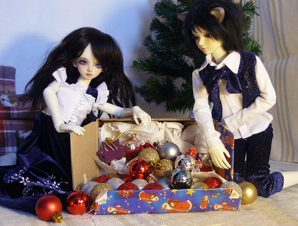 Kotik i Carmell by NiebieskiKot