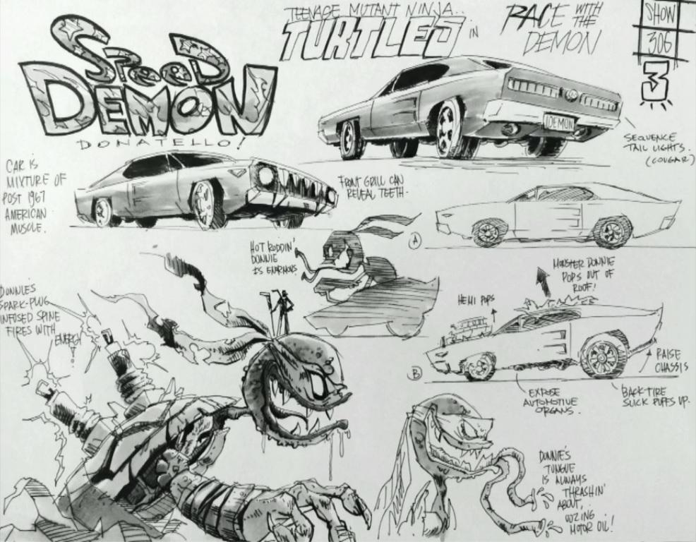 Donnie Speed Demon S3 E6 By Leonardofangirl1 On Deviantart