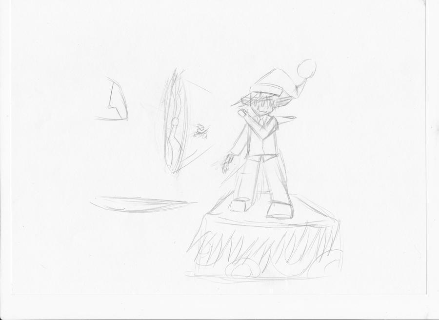 Practice Art For Sakamoto Quest by jesus77755