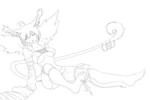 Giantess Azumi by AzumiHaruki