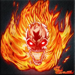 Ghost Rider by RoxedoArt