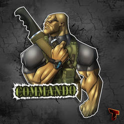 The Commando by RoxedoArt