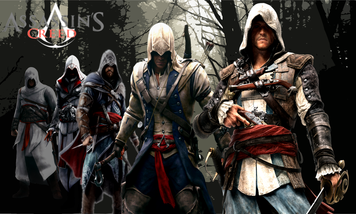 Assassin's Creed Series Wallpaper 2 by yellowcar96 on ...