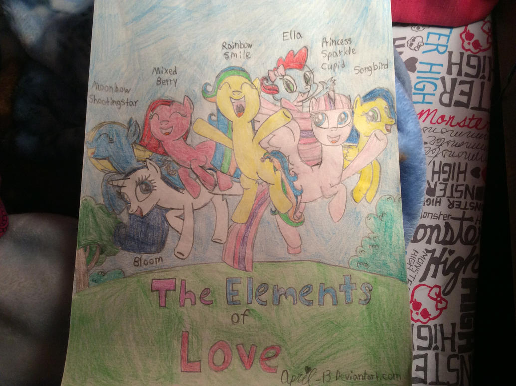 The Elements of Love by April-13