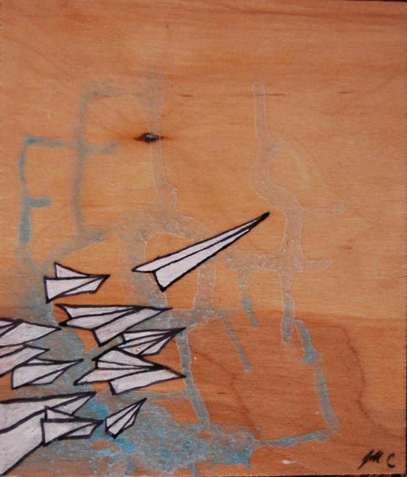Paper Planes by manfishinc