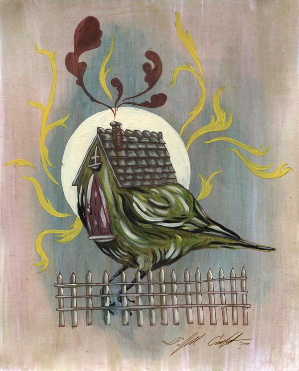 Birdhouse by manfishinc
