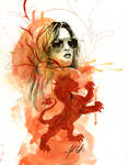Red Lion- Lzzy Hale by manfishinc