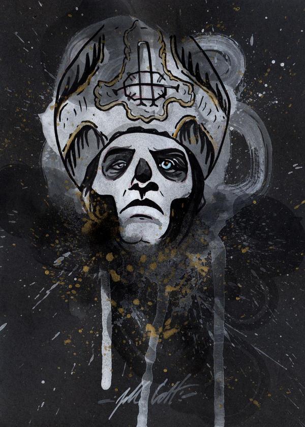Papa Emeritus III by manfishinc