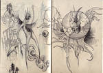 The Horror- Sketchbook