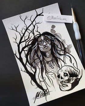 Inktober 2019 - Day Two