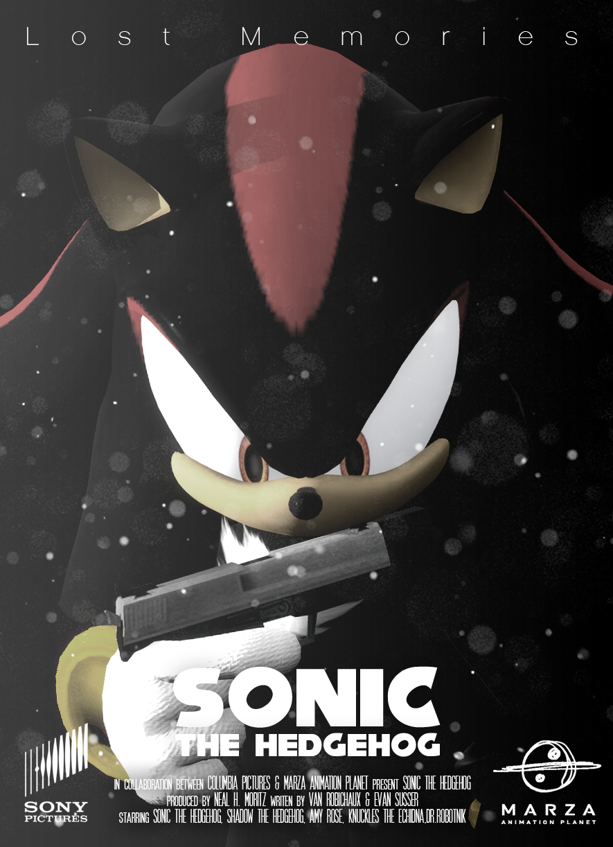 Sonic The Hedgehog Movie Fake Poster Shadow By Djsmp On Deviantart