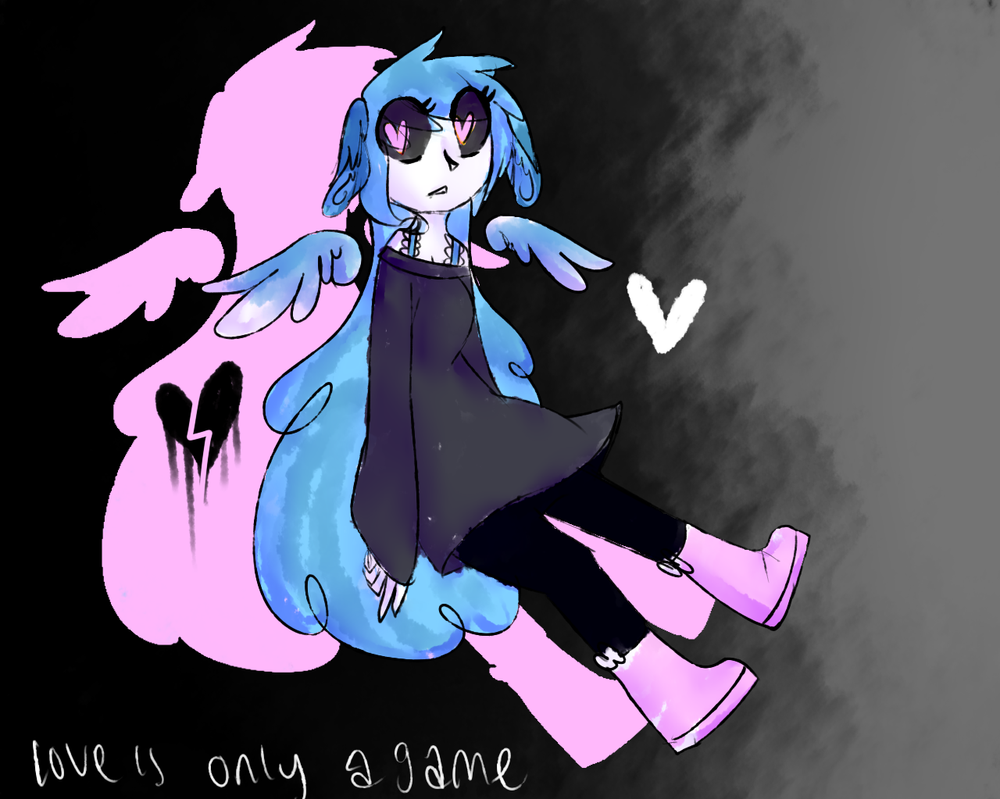 love is only a game, they said. by xxspadess