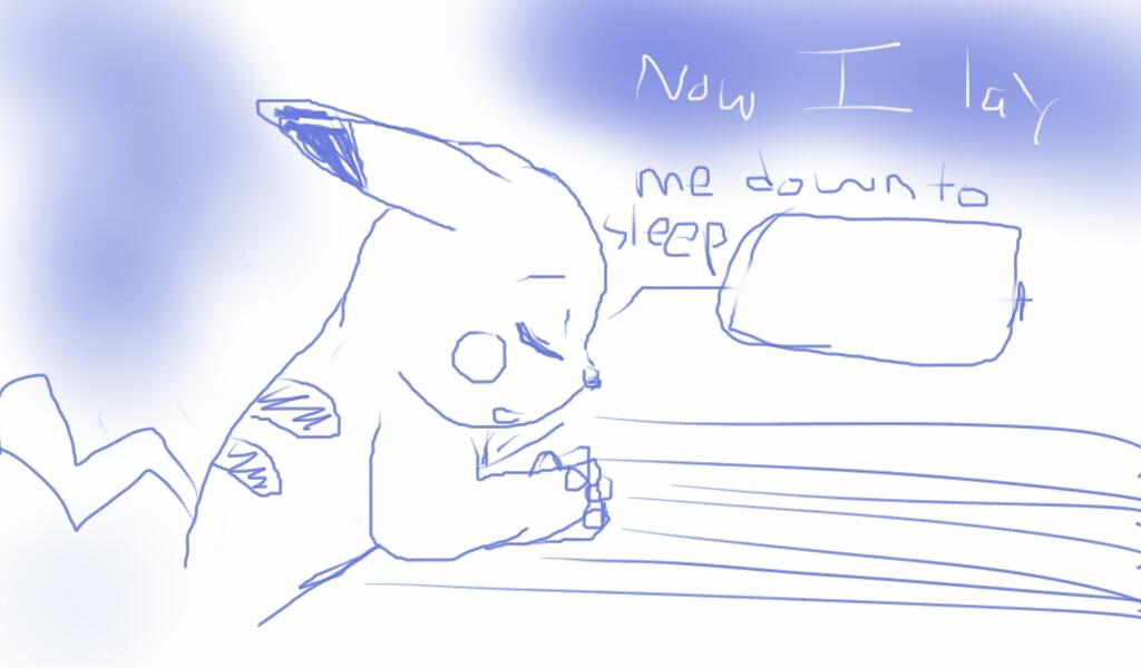 Pikachu's Prayer by Annamay168