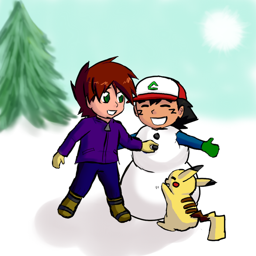 Snowman color by Annamay168