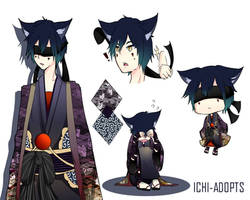 Kemonomimi Adoptable (Closed)    Auction (Lowered) by Ichi-Adopts