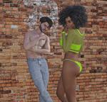 John and Tisha by arcades666